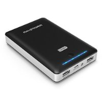 [Quick Charge 2.0] RAVPower Caricabatterie Portatile 13400mAh Power Bank con Tecnologia Qualcomm Quick Charge 2.0 per Cellulari, Tablet e altri Dispositivi Elettronici