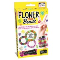 Nice NCE46005 Creative DIY - Perline per Gioielli Flower Power Beads Pocket Vers